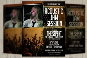 Acoustic Session Flyer / PosterVol.2