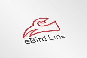 eBird Line – Logo Template