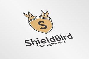 ShieldBird/Letter S – Logo Template
