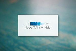 Made With A Vision - Logo Design
