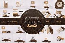 Coffee Mockups Bundle