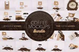 Coffee Mockups Bundle