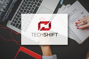 TechShift - Logo Design