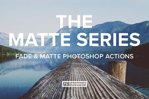 The Matte Series Photoshop Actions