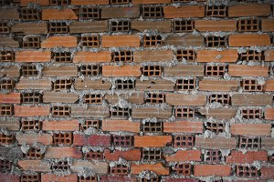 Brick grungy wall