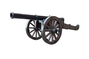 Iron cannon
