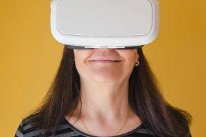 VR headset, 3d glasses