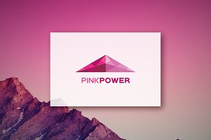 Pink Power -Logo Design