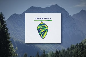 Green Pupa - Logo Design