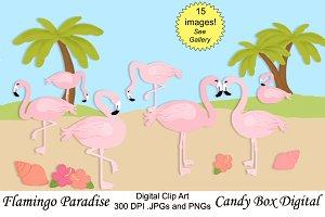Flamingo Clip Art