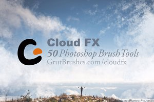 Cloud FX • 50 Photoshop Brush Tools