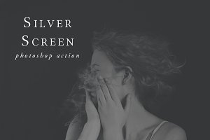 Silver Screen Photoshop Action