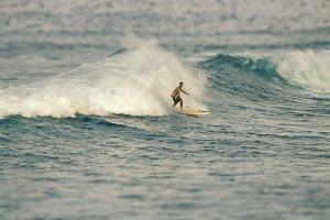 Surfer (Tilt shift)