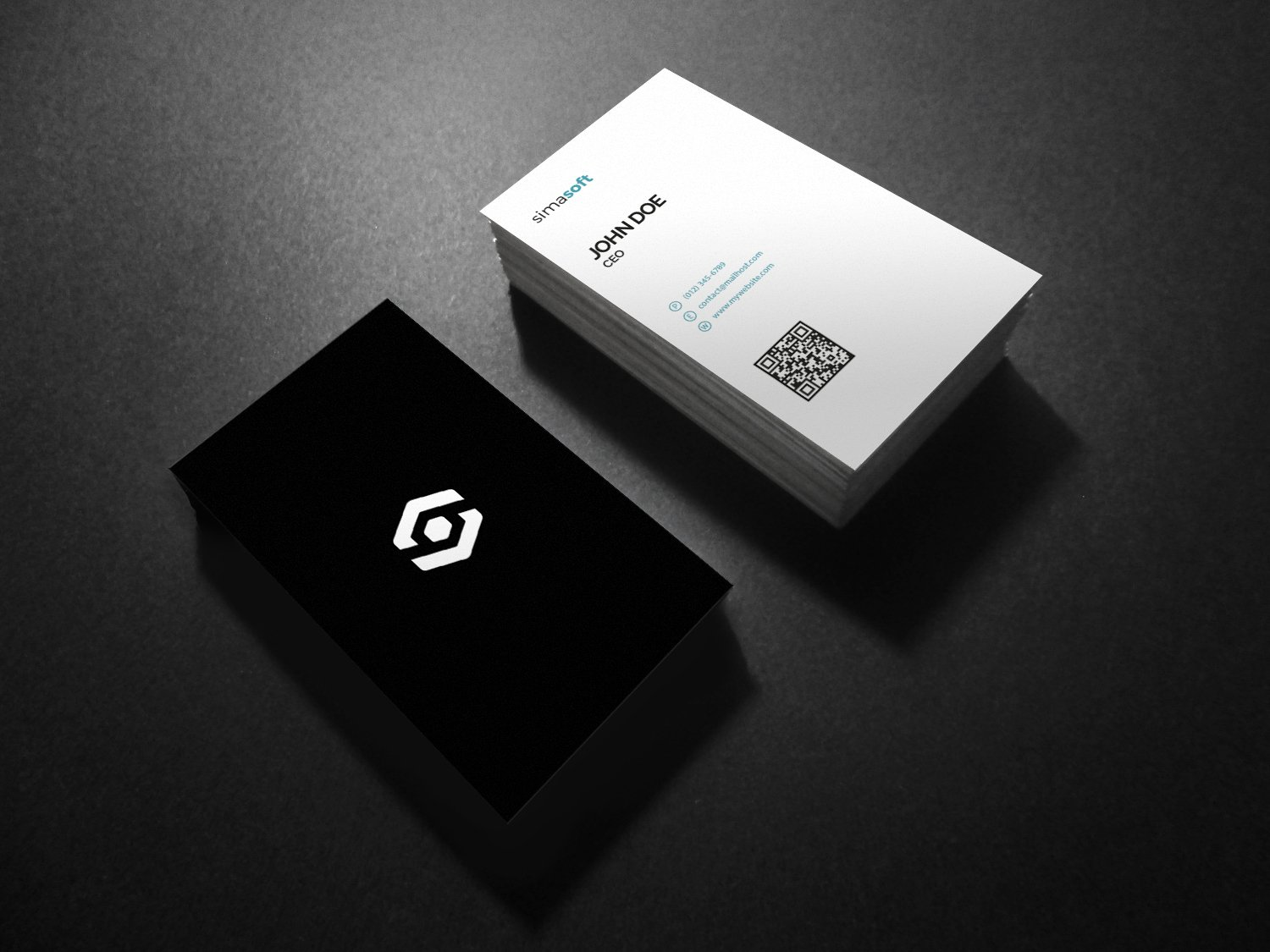 Creative business card business card templates creative market reheart Gallery
