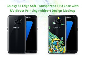 Galaxy S7 Edge TPU Case Mockup