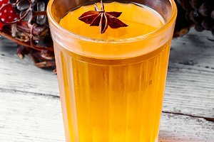 pumpkin jelly drink