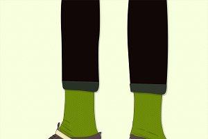 Roller skate shoes. Vintage