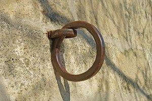 Old iron ring