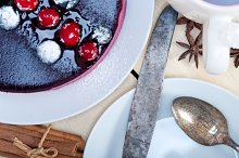 english tea and dessert