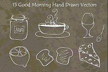 Good Morning Hand Drawn Vectors