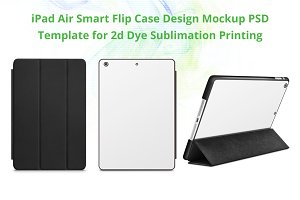 iPad Air Smart Flip Case Mockup
