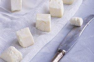 Vegetarian cheese paneer