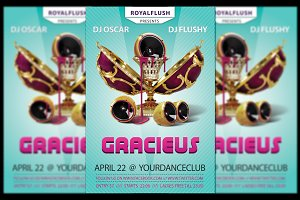 Gracieus Party Flyer