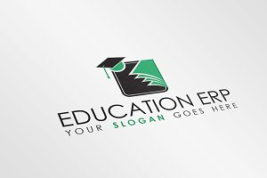 Simple Education Logo Template