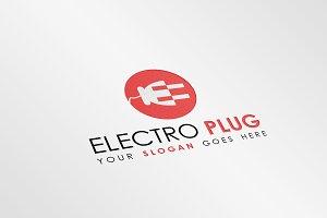 Electro Plug Logo Template