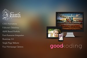 Jhinti - Multipurpose HTML Template