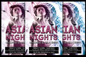 Asian Nights Flyer