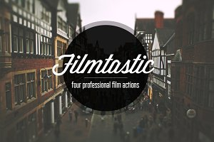 Filmtastic Photoshop Film Actions