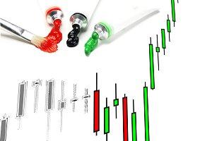 stock market candlestick