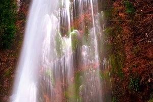 Waterfall with intense colors III