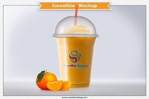 Smoothie Mockup