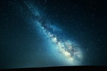 Landscape with Milky Way