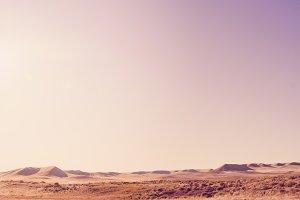 Desert Sand Dune Landscape
