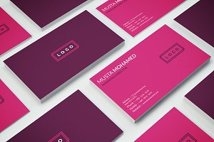 Business Card Beauty & Fashion Style