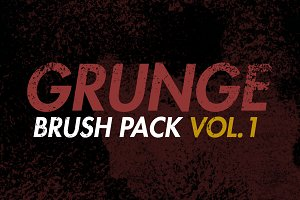 Grunge Brush Pack Vol.1