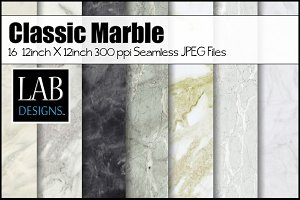 Classic Marble Seamless Testures