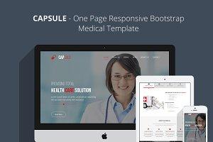 CAPSULE -Responsive Medical Template