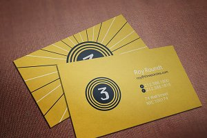 Three Circles Business Card