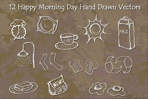 Happy Morning Day Vectors