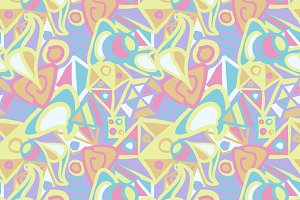 Abstract pattern in pastel colors