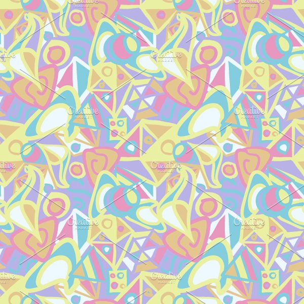 abstract pattern in pastel colors graphic patterns creative market