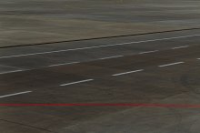 Airstrip at the airport
