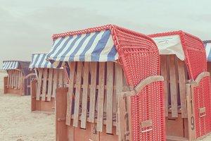 Wicker Beach Chair (North Sea)