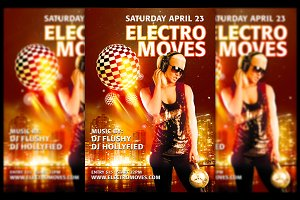 Electro Moves Flyer
