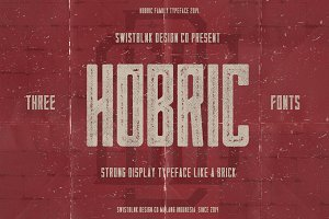 Hobric Family Typeface
