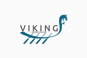 Viking Boat Logo